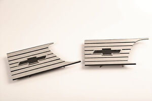 1957 58 Chevy Cameo Truck Bed Inserts Pair Brand New Stainless Steel