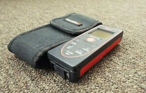 Leica Disto D2 New 330ft Laser Distance Measure 4 0 Black red tested