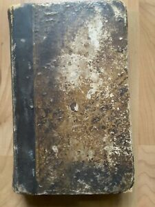Old Homeopathic Domestic Medicine By J Laurie 1850 Antique Medical