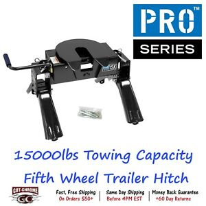 30093 Pro Series 15000 Pound Towing Capacity Fifth Wheel Trailer Hitch
