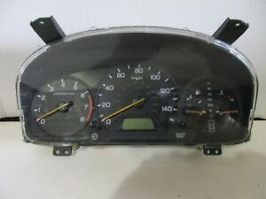 2000 2001 2002 Honda Accord Sedan Ex Lx Speedometer Cluster Mt 3 0l