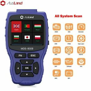 Home Use All System Obd2 Scanner Auto Abs Srs Dpf Tpms Sas Epb Diagnostic Tool