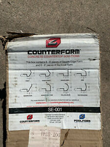 Z Counterform Square Edge Concrete Countertop Form
