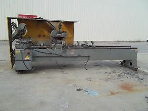 Pressta Eisele Double Head Circular Miter Cold Saw Sawing Center 16 Blade 16