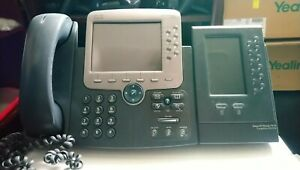 Cisco 7975 Ip Phone With 7916 Module
