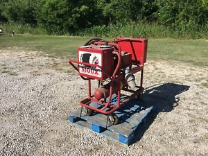 Sioux Electric Hot Water Pressure Power Washer E 40 Cleaner Industrial Machine