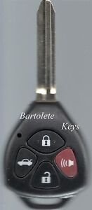 Replacement Remote Key Shell Fits Toyota Rav4 Avalon Yaris Camry Venza And More
