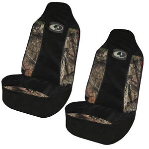 New Mossy Oak Camouflage Car Truck Suv Van 2 Front Universal Fit Seat Covers Set