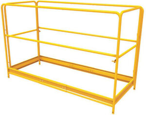 Scaffolding Tools 6 Ft X 2 5 Ft X 3 4 Ft Guardrail System Weather Resistant