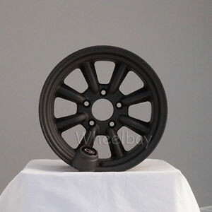New Rota Wheel Rkr 15x8 5x114 3 10 Mag Black 2 5 Lip Mustang