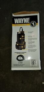 Wayne 51 6 Gpm 1 1 4 Oil free Submersible Thermoplastic Utility Pump