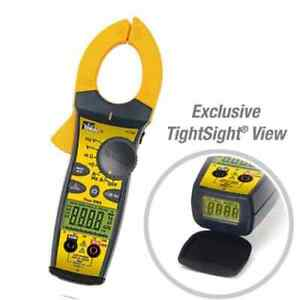 Ideal 61 765 660a Ac dc Tightsight Clamp Meter W trms Capacitance Frequency