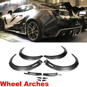 For Chevrolet Camaro 16 19 Fender Flares Body Wheel Arches Fiberglass Customized