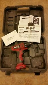 Matco Mptl144iw 3 8 Impact Driver 14 4v 14 4 Tool case manual Only