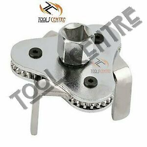 Toolscenter Three Leg Two Way Oil Filter Wrench Car Universal Adjustable Remover