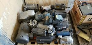 Lot Of Electric And A c Motor Controls Drives Various Models