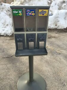 Venstar 3000 Bulk Candy Gumball Vending Machine With Gb Wheel Free Labels