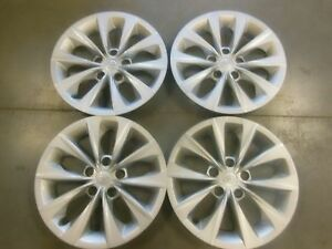 Factory Toyota Camry Hubcaps Wheel Covers 2015 2016 16 Set Of 4 61175 1