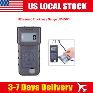 Lcd Ultrasonic Thickness Gauge Measuring Tool Meter For Iron Pvc Metal 1 0 245mm