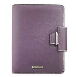 At a glance Day Runner Terramo Refillable Planner 5 1 2 X 8 1 2 Eggplant