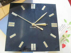 Howard Miller Built In Wall Clock George Nelson Assoc Model 6736 New Old Stock