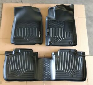 Sale Husky Weatherbeater Front Rear Floor Liners For 2012 2017 Toyota Camry