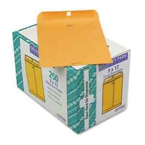 Quality Park Clasp Envelope Side Seam 9 X 12