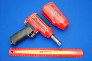 New Snap on Compact 1 2 Drive Red Long Pinned Anvil Impact Wrench Mg3255lp