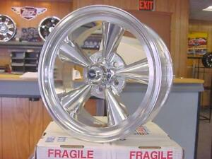 17x7 Vn109 Torq Thrust Tto Polished American Racing 5 On 5 5 Ford F100 F150