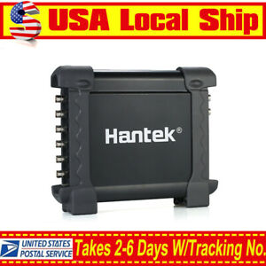 Hantek 1008c Pc Usb 12 Bits Oscilloscope 8ch Automotive Diagnostic 2 4msa s 8ch
