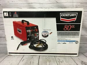 New Century 80gl Mig flux cored Wire Feed Welder