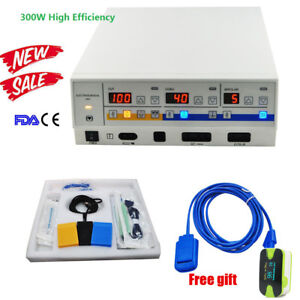 300w Electrosurgical Unit Leep Diathermy Cautery Machine Bipolar Forceps Super