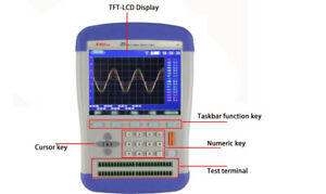 Handheld 8 channel Thermocouple Pt100 Temperature Meter Recorder 5 3 tftlcd Usb