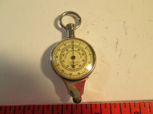Vtg Germany Combined Map Measures Compass Leather Case