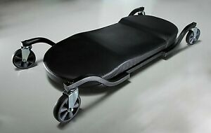 Auto Mechanic Body Creeper Padded Low Profile Wide Rolling Caster Repair Shop