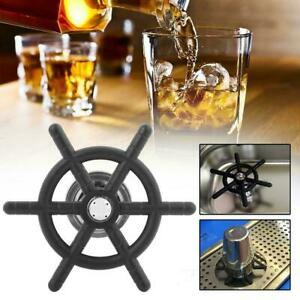 Stainless Steel Bar Bar Beer Glass Coffee Cup Rinser Assembly For Drip Tray