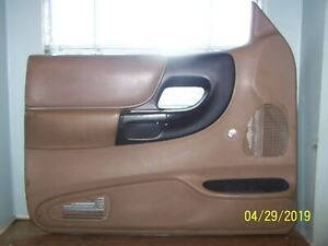 1994 2002 Ford Ranger Driver Left Side Manual Interior Door Panel Tan