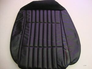 Fox Body 1993 Mustang New Black Leather Factory Ford Front Seat Cover
