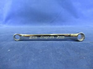 Snap On Xsm67a 6mm 7mm Short 10 Deg Offset Box Wrench 37 25 List Unused