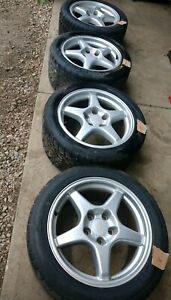 Corvette Zr1 Wheels And Tires Oem 17x9 5