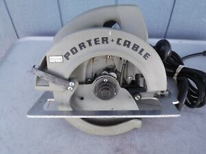 Porter Cable Model 315 1 7 1 4 Heavy Duty Builders Saw With 3 New Blades