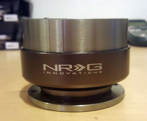 Sale Nrg Gen 2 0 Quick Release Adapter Gunmetal Body Titanium Ring