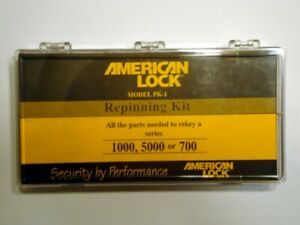 American Master Lock Repinning Re keying Kit Pk 1 Series 1000 5000 700 Pin Kit