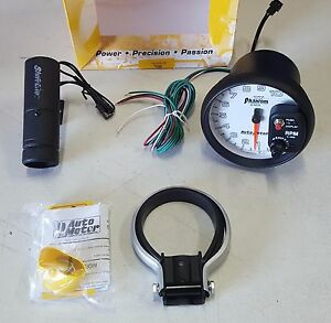 Sale Auto Meter 7599 Phantom Ii Shift Lite Light Tachometer 5 0 10000 Rpm Tach