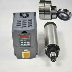 Hot Air cooled Motor Spindle And Inverter Drive Vfd Updated 1 5kw Er11