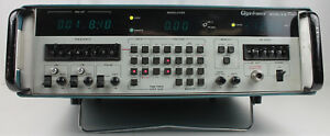 Giga tronics Model 610 0 01 8 10mhz 8ghz Sweep Signal Generator Power Tested