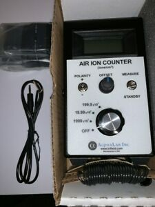 Air Ion Counter 200 Million Ions cc Free Shipping And Brand New