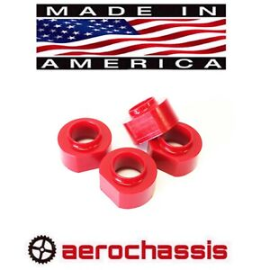Grand Cherokee 1993 1998 Zj Lift Kit 2 Poly Coil Spring Spacers 4wd 2wd Red