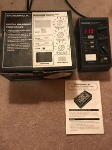 Lpl Enlarging Timer Et 500 Digital With Box And Papers