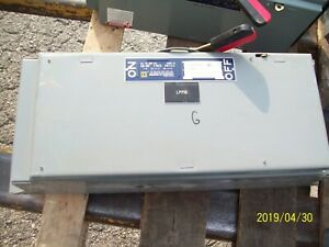 Square D Qmb 324 200a 200 Amp 3 pole Disconnect Switch